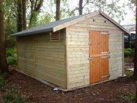 10 x 12 Self Erect Hobby Room with a stable style door.