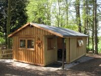 This building was designed by Ullesthorpe Scout group to match their existing buildings.