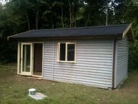 10 x 24 Workshop / Garden Store with a covered area to do work undercover. 2.5m high to meet the planning restrictions.