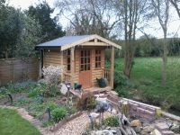 8 x 8 Workroom with a 2ft verandah to the front