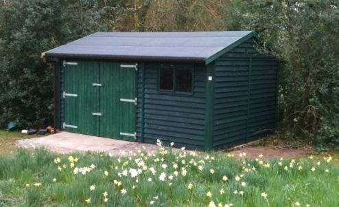 Garden Shed Warwick Garage Timber Garages Workrooms Garden Offices